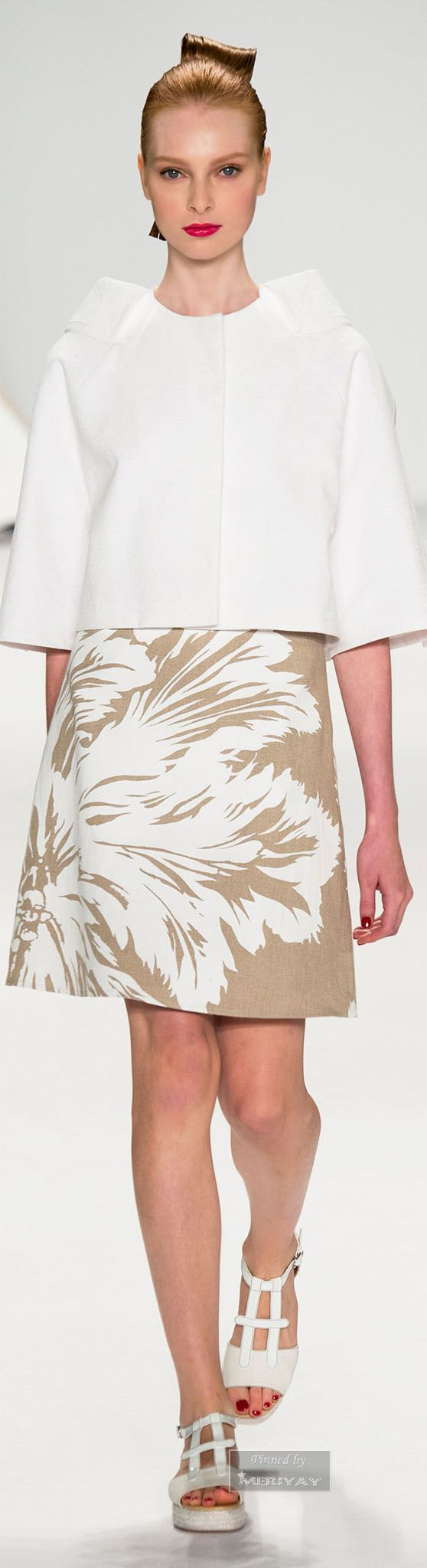 Casual flowy white dress fashion style 2015 - Spring 2015 Casual Fashion Styleclassic