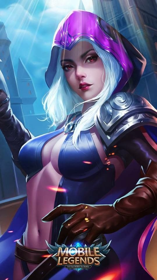 heroes wallpaper , game. mobile legends, natalia