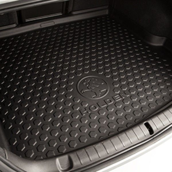 2016 #SS Cargo Area Premium All Weather Floor Mat, Holden Logo: Help keep the floor of the trunk in your SS clean with this Premium All-Weather Cargo Area Mat featuring the Holden logo.