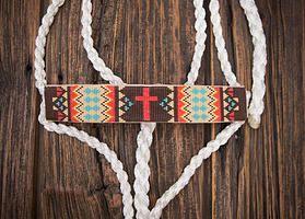 (Busted K) Halters  Beaded Mule Tape Halter  www.bustedkbeadwork.com