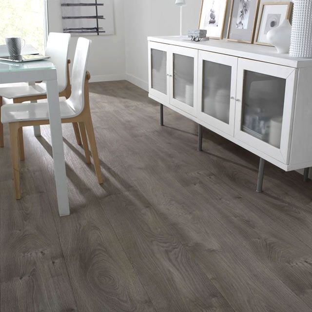 Rev tement sol pvc design oak gris 4 m castorama for the home pinterest - Revetement sol pvc castorama ...