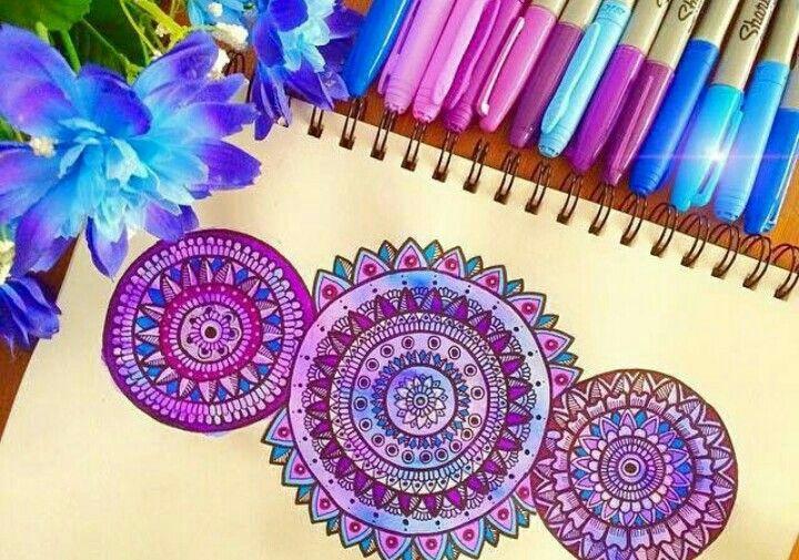 Purple #floral.art