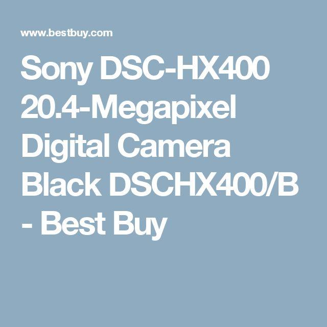 Sony DSC-HX400 20.4-Megapixel Digital Camera Black DSCHX400/B - Best Buy