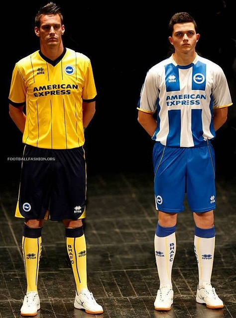 Brighton  Hove Albion 2013/14 Errea Away Kit
