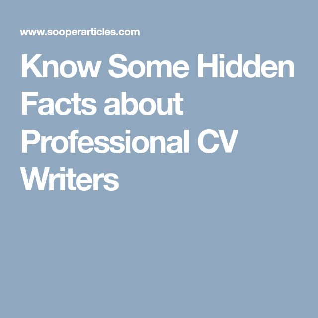 Best 25+ Professional cv writers ideas on Pinterest Job - Articles On Resume Writing