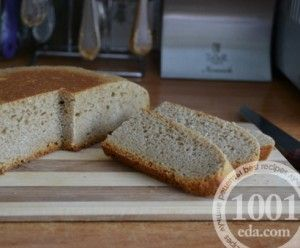 Рецепт безглютенового хлеба в мультиварке - Хлеб в мультиварке от 1001 ЕДА