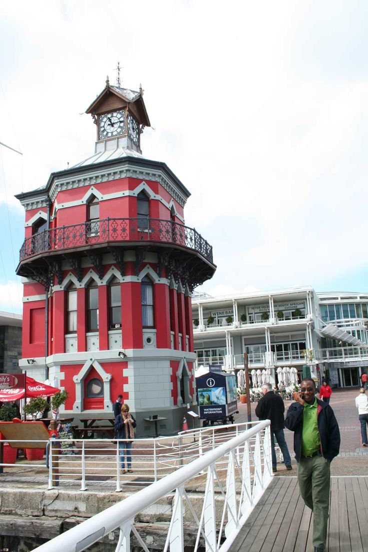 Capetown, South Africa ~ Waterfront Clock Tower