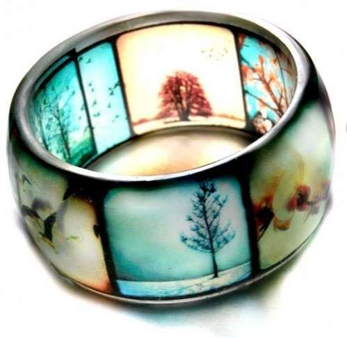50 Romantic Jewelry Designs - From Romantic Love Boat Rings to Sentimental Jigsaw Jewelry (TOPLIST)   Viewfinder photo bracelet