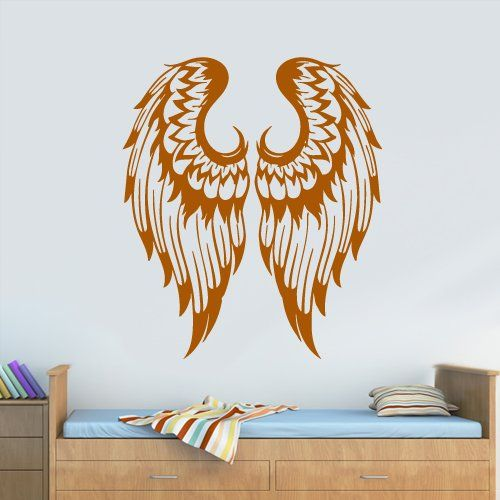 119 best images about angel wings on pinterest murals for Angel wall mural