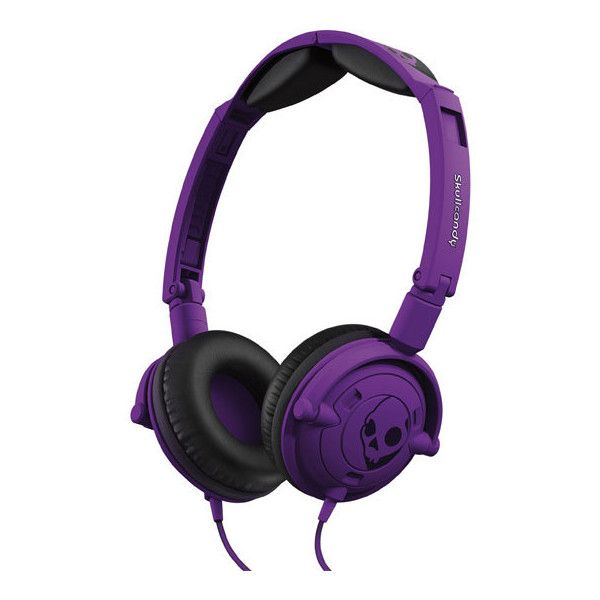SKULLCANDY Lowrider Headphones ($40) ❤ liked on Polyvore featuring headphones, accessories, electronics, other and athletic purple