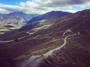 Mountain Biking, Queenstown New Zealand  Taking on the adventure of life...