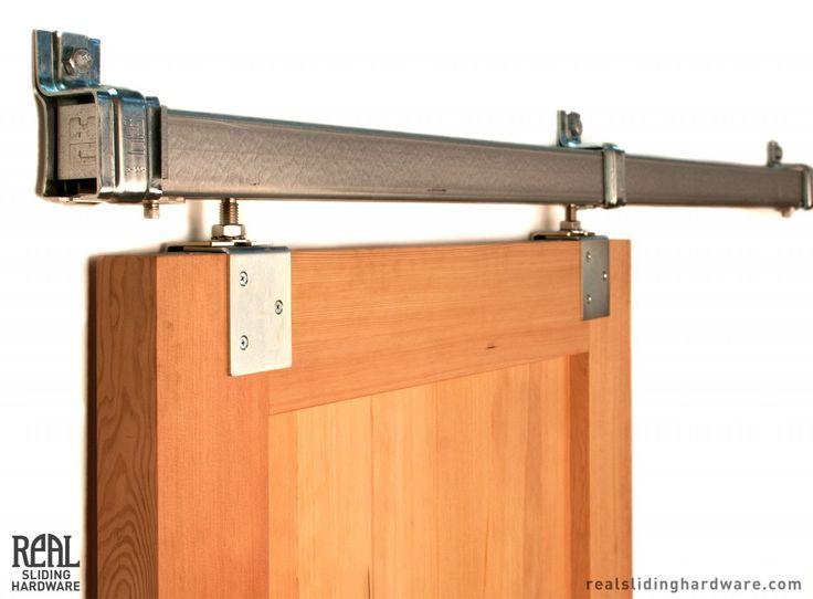 Heavy Duty Industrial Box Rail Exterior Barn Door Hardware