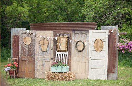 Photocall para bodas originales como la tuya puertas y bodas for Decoracion puertas vintage