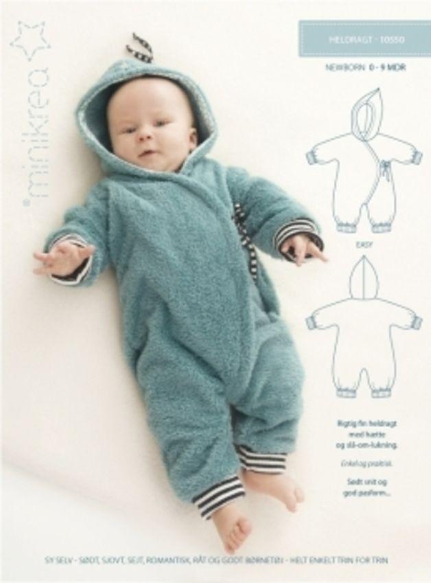 Babymode - *Schnittmuster minikrea- 10550 Overall* - ein Designerstück von KikiLino bei DaWanda