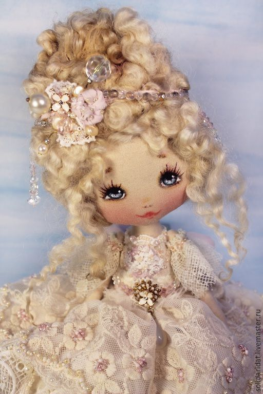 Купить Жизель - винтаж, коллекционная кукла, ручная работа, оригинальный сувенир, лучший подарок девушке