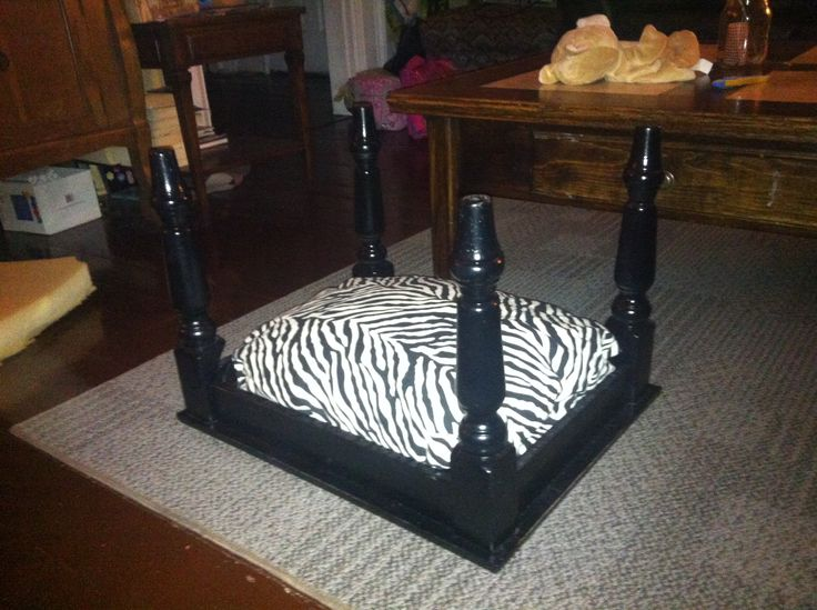 Pdf diy end table dog bed plans free for Making a dog bed out of a table