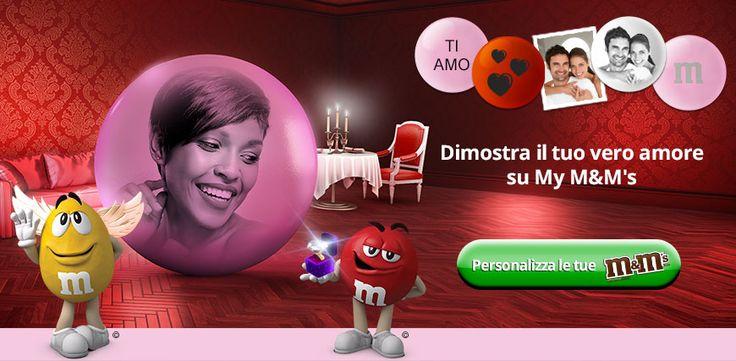 regali romantici: personalizza i tuoi M&M's