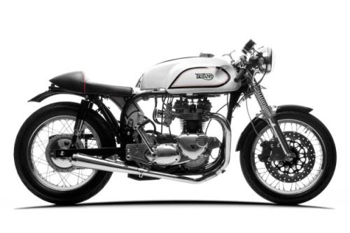 ADAM GRICE'S KILLER TRITON #motorcycles #caferacer