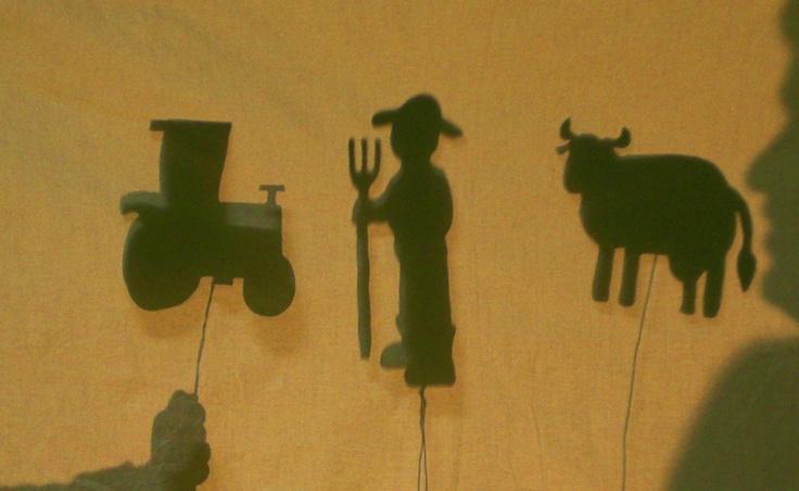 Teatro de sombras en Escuelas Infantiles El Patio