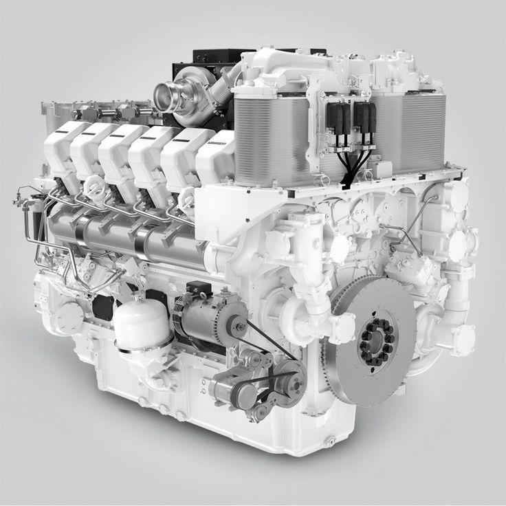 Новый 12-цилиндровый V-образный дизельный двигатель Liebherr D9812 | Портал спецтехники Украины «ENKI».