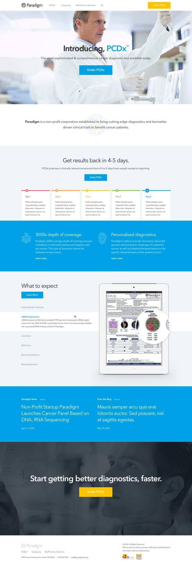 Cool Web Design, Paradigm. #webdesign #webdevelopment [http://www.pinterest.com/alfredchong/]