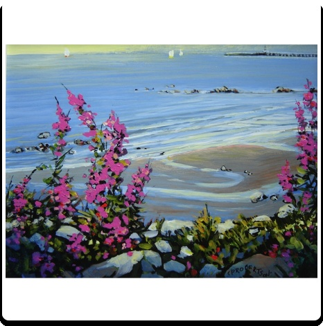 51 best white rock seasons images on pinterest canada vancouver a gorgeous oil painting by catherine robertson of wild flowers white rock beach mightylinksfo Gallery