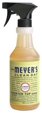 Mrs. Meyer's Lemon Verbena Countertop Spray contemporary-bathtubs