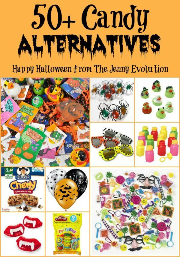 50 candy alternatives for halloween trick or treating - Halloween Trick Ideas