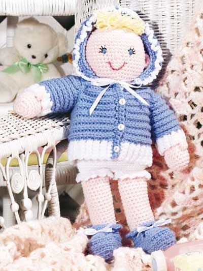 Playtime Baby Doll from Free-Crochet.com - free pattern