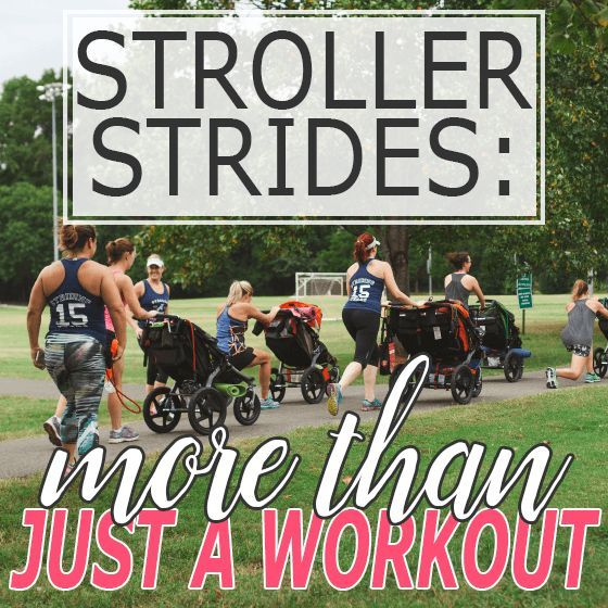 Stroller Strides: More than just a Workout » Daily Mom  {pacifickid.net}