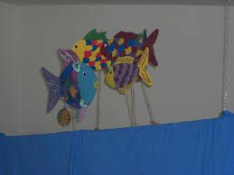 Bildergebnis für Der Regenbogenfisch Ein Theaterstück für Kinder