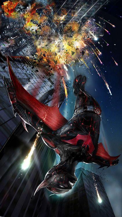 Batman Beyond by uncannyknack
