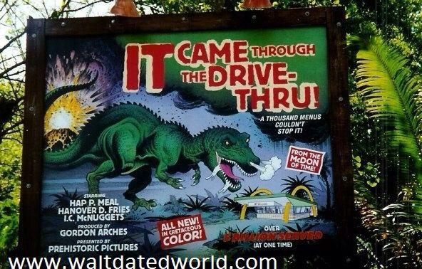 Relive the original McDonald's sponsorship at Animal Kingdom's DinoLand U.S.A.