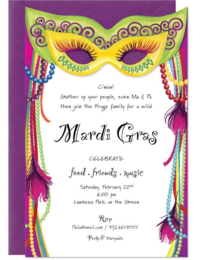 Mardi Gras Invitation Template – orderecigsjuice.info