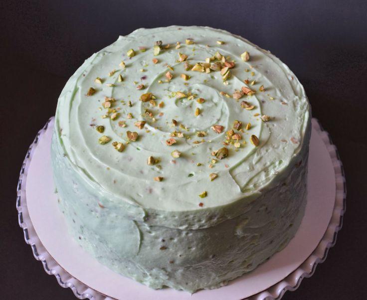 Double Pistachio Cake // Cupcake Boom