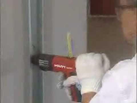 Drywall - Montagem de Paredes - Colocação dos Montantes