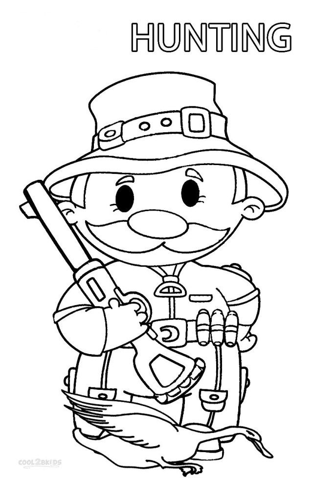 Awesome Image Of Hunting Coloring Pages Albanysinsanity Com Deer Coloring Pages Coloring Books Coloring Pages