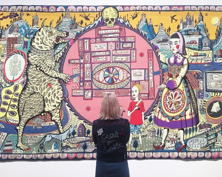 Grayson Perry Map Of Truths And Beliefs Detail 2011 Pictures to pin on  print