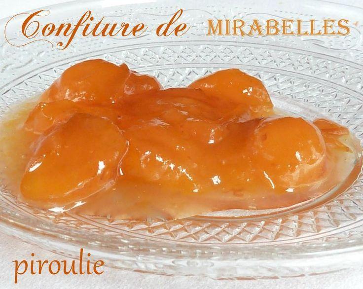 Confiture de mirabelles de Christine Ferber. (Christine Ferber is famous for her 'confiture'. They are so good that Brad Pitt buys them in bulk.)