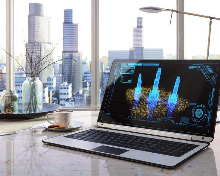 Скачать обои 3d автокад, красивый вид, офис, ноутбук экран, чашка кофе, проектирование зданий, окно город высотки, wallpaper., боке, размытость, рабочий стол, интерьер, деловой центр, стиль, раздел интерьер в разрешении 1280x1024