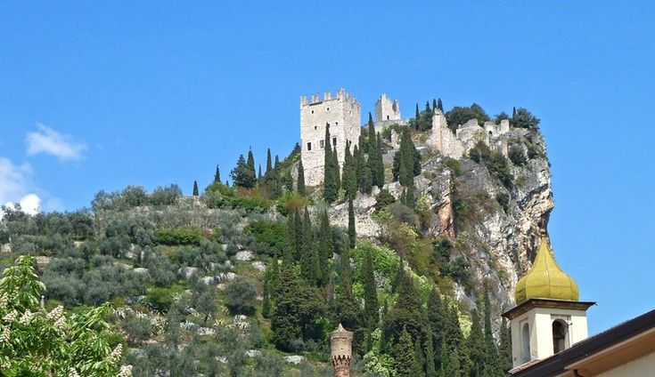 Visit Arco and walk up to its castle for stunning views over the north of the lake
