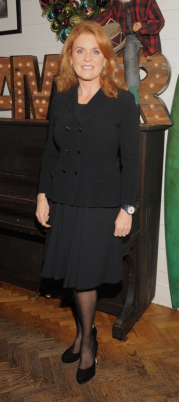 Svelte: Sarah Ferguson, Duchess of York