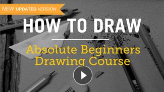 The 3 reasons why you can't draw, (and what to do about it)