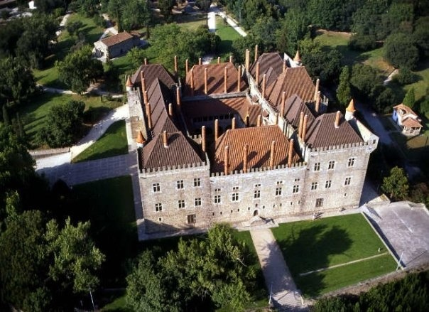Palace of the Dukes of Braganza, Guimaraes, Braga - Portugal