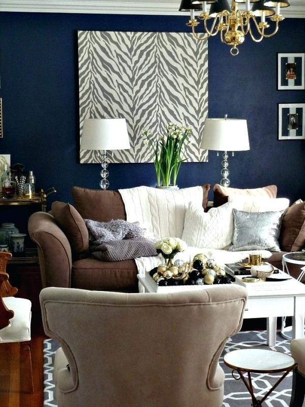 Graue Wände Brown Couch #livingroom #beige #braune #wohnzimmer #haus