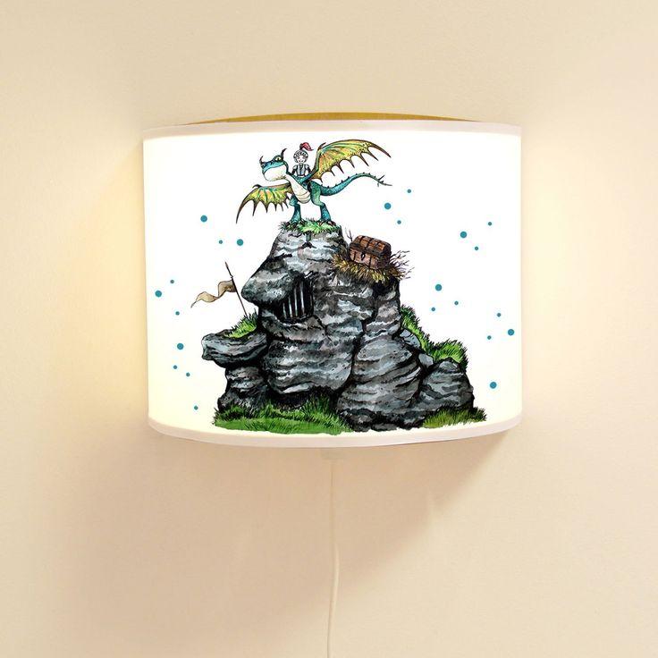 44 besten kinderzimmer ritter drachen bilder auf - Wandlampe kinderzimmer jungen ...