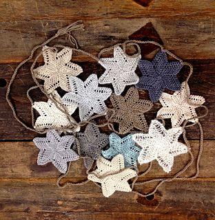 Luxury Holiday Garland, free pattern by Kristen Ashbaugh-Helmreich