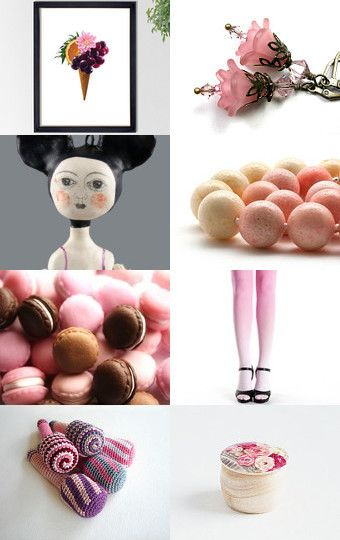 Ice cream........................... by talma vardi on Etsy--Pinned with TreasuryPin.com