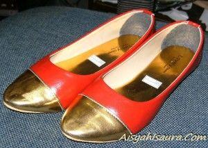 Sepatu Flat Acara Resepsi Pernikahan