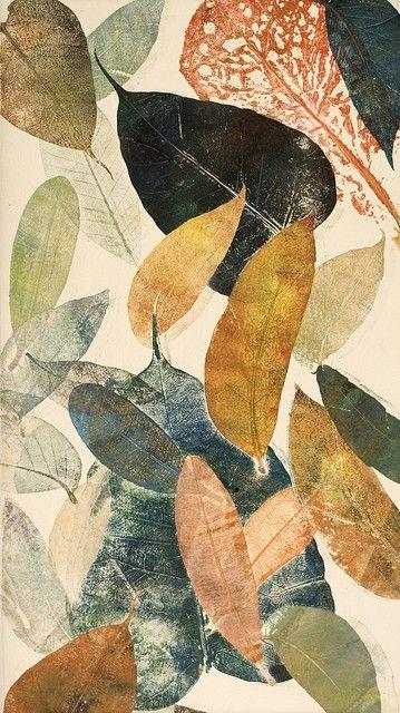 Autumn Leaf II by Mariann Johansen Ellis